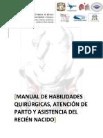 Manual de Habilidades Quirurgicas