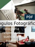 Ángulos y Planos Fotográficos