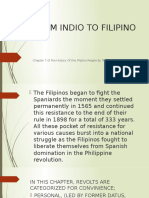 From Indio to Filipino