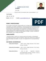 Curriculo Vitae Marcos Mejorado