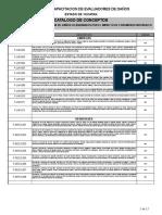 Catálogo Cédula Fonden