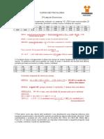 2ª Lista de Exercícios - Psicologia- 2013-2