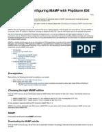 PhpStorm InstallingandConfiguringMAMPwithPhpStormIDE