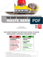 Kent Waste Business Guide