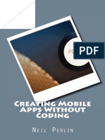 Creating Mobile Apps Without Coding