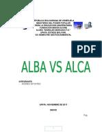 Alba vs Alca