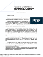 Álvarez, A. (1991). Modificaciones Lingüísticas y Conversacionales en El Habla Del Profesor de Español Como L2