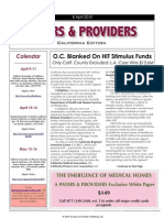 Payers & Providers -- Issue of April 8, 2010