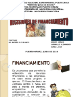 Decisiones Financiamiento Presentacion Powerpoint