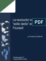 Foucault Estilo Tardío Iraní