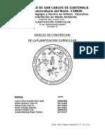 Niveles de Concreción de La Planificación Curricular (2)