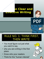 rules on clear and effective writing.ppt