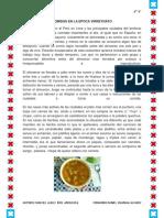 Comidas en La Epoca Virreynato(1)
