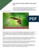 Singapore dengue fever 2015