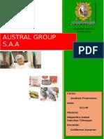 Analisis de Los E.F de Austral Group