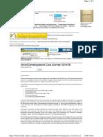 2015 - Hotel Development Cost Survey
