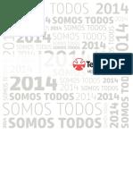Teleton Memoria Anual 2014