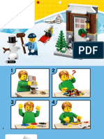 40124 Lego Seasonal Snow 2105
