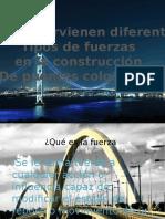 Trabajo Ciencias (fisica) puentes, fuerza