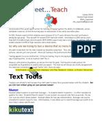TTT Notes for GaETC