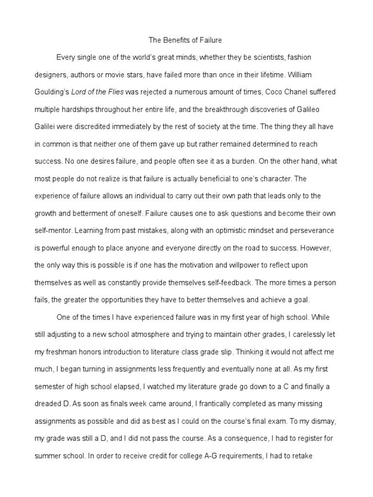 Critique research paper format
