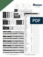 Character Sheet Shadowrun D20
