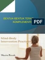 Bentuk-bentuk Terapi Komplementer