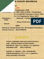 Slide SISTEM HUKUM INDONESIA.ppt