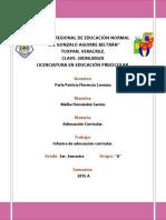 Informe de Adecuación Curricular