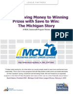 Save to Win Michigan League Story March2010