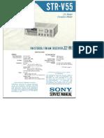 Sony Str v55