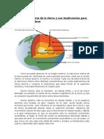 Estructura Interna de La Tierra y Sus Implicancias Para El Territorio Chileno