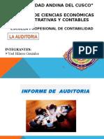 Informe Largo de Auditoria