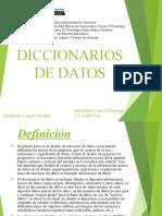 Base de Datos - Diccionario de Datos