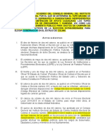 151106 Acdo Topes Precampaña Campaña Financiamiento Elecc Extraor Colima...