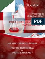 Sesion 4. Prinsip Profesionalisme