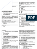 Criminal Procedure Notes Based on Riano
