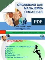 Management Organisasi Mufid