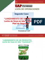 CASO 2- LANZAMIENTO DE UN PRODUCTO - LECHE DE SOYA EN LATA - 2016.pptx