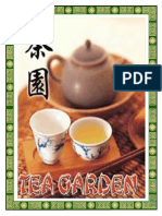 Tea Garden Menu