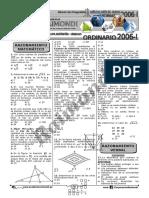 03 Banco de Preguntas - Ordinario 2006-i