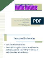 Intestinal Helminthiasis and Filariasis_SGT