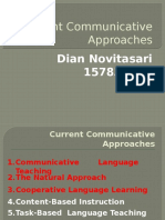 Current Communicative Approaches DONE