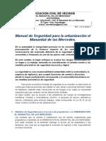 Medidas de Seguridad de La Urb El Manantial de Las Mercedes