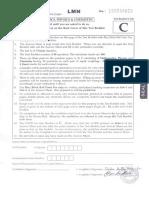 JEE Main Paper 1 2015 Eng Code c