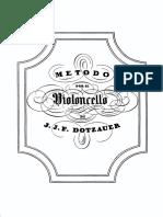 Dotzauer - Metodo Per Il Violoncello Cello Method 1838 BW