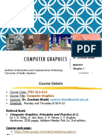 Lecture 1_ Computer Graphics _Chapter 1 Introduction