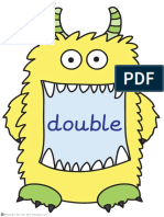 Monster Maths Words