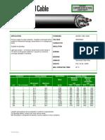 3c Cu Xlpe Pvc 3.8 (6.6) Kv Light Duty Cws