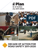 UN Global Plan for Decade of Action -Rd Safety